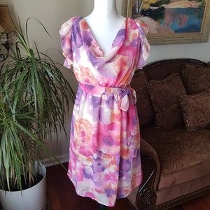 Dresses & Skirts - Motherhood Maternity Floral Watercolor Dress S